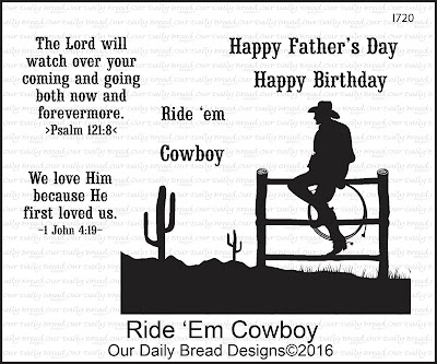 ODBD Stamp Set: Ride 'Em Cowboy