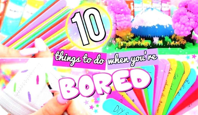 Fun Crafts To Do At Home That You Never Bored