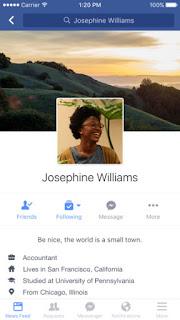 Facebook: l'app si aggiorna alla vers 58.0