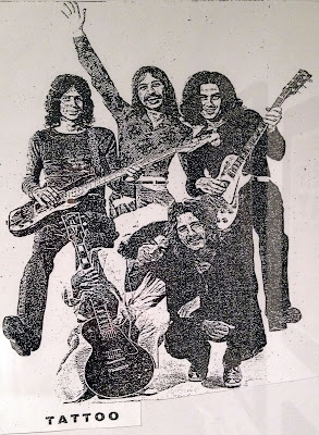 The Tattoo Band 1971/1972