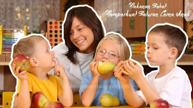 Makanan untuk Memperkuat Saluran Cerna Anak