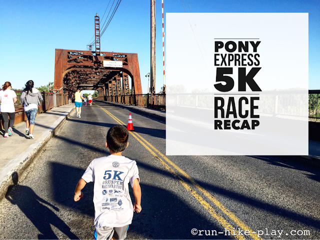 Pony Express 5K Race Recap