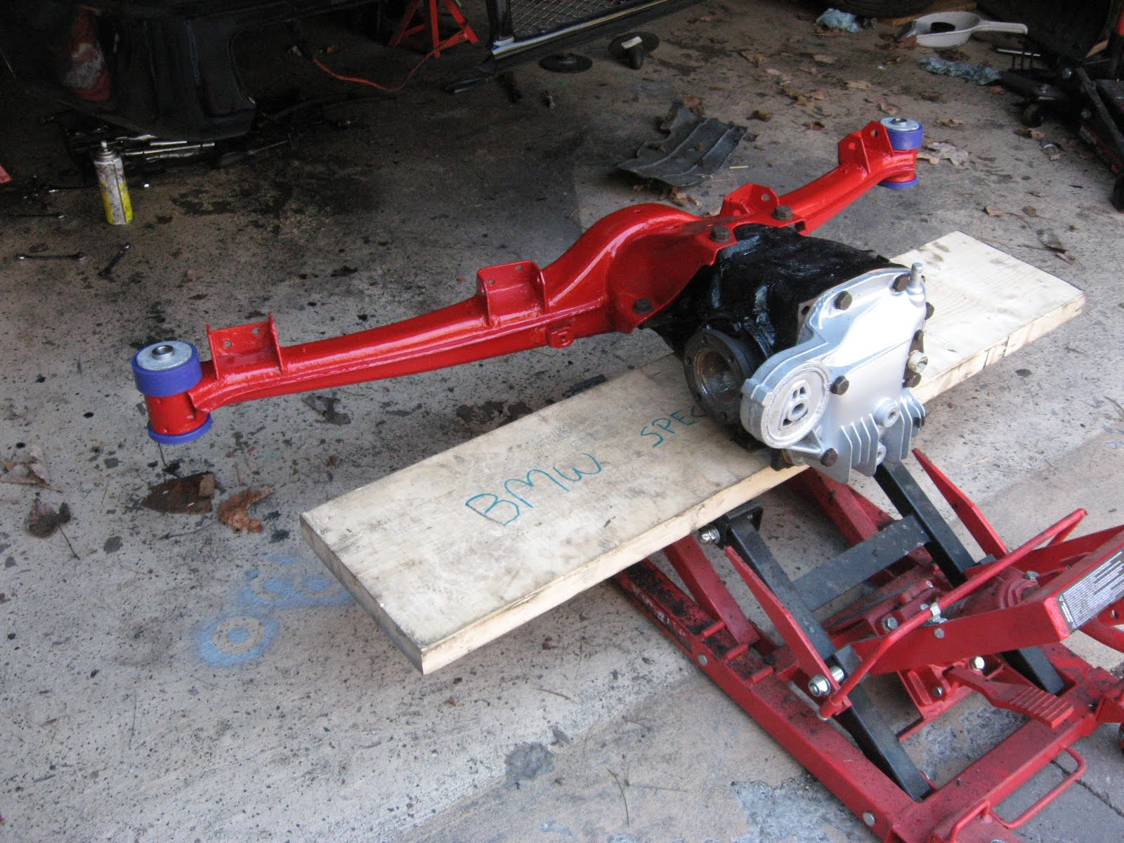 My Project 1987 Bmw 325is E30 More Rear Axle Stuff Done