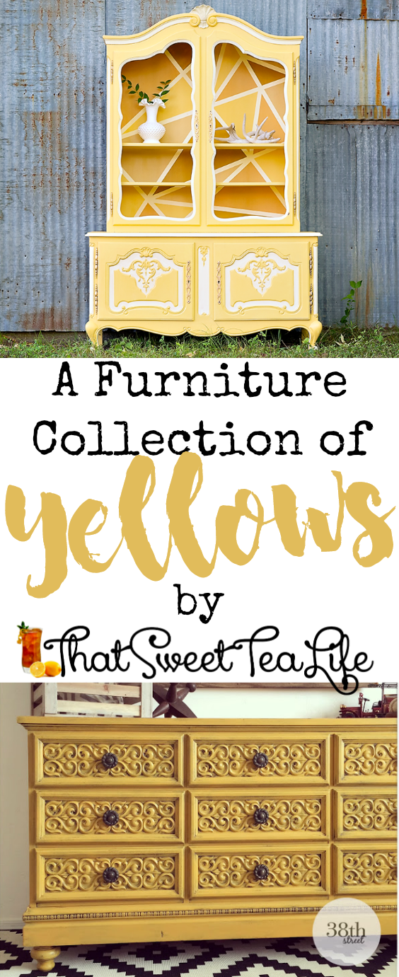 Yellow Painted Furniture Pin Image