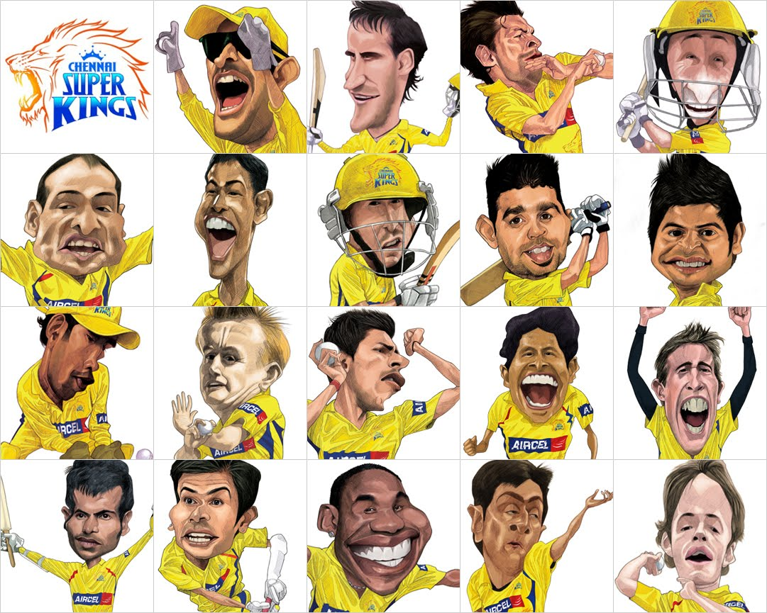 shijokes: HOWZAAT - Team CSK