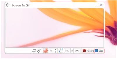setup SCREENTOGIF App
