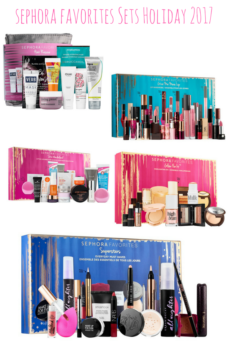 Does Sephora Do Makeup: Sephora Holiday 2017: Sephora Favorites Sets