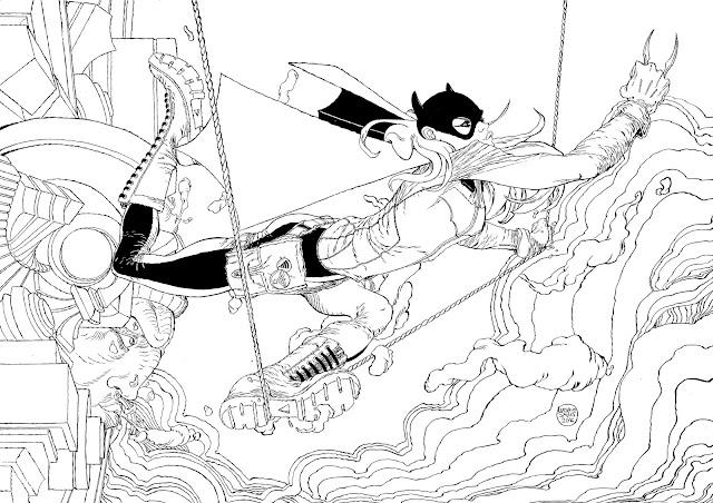 Batgirl por Luciano Salles
