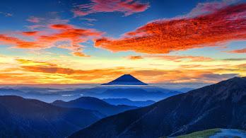 Mount Fuji, Colorful, Sky, Mountain, Scenery, 8K, #4.2328