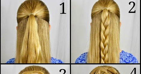 Swept Up Rose Braid Bun Hairstyle Tutorial Calgary