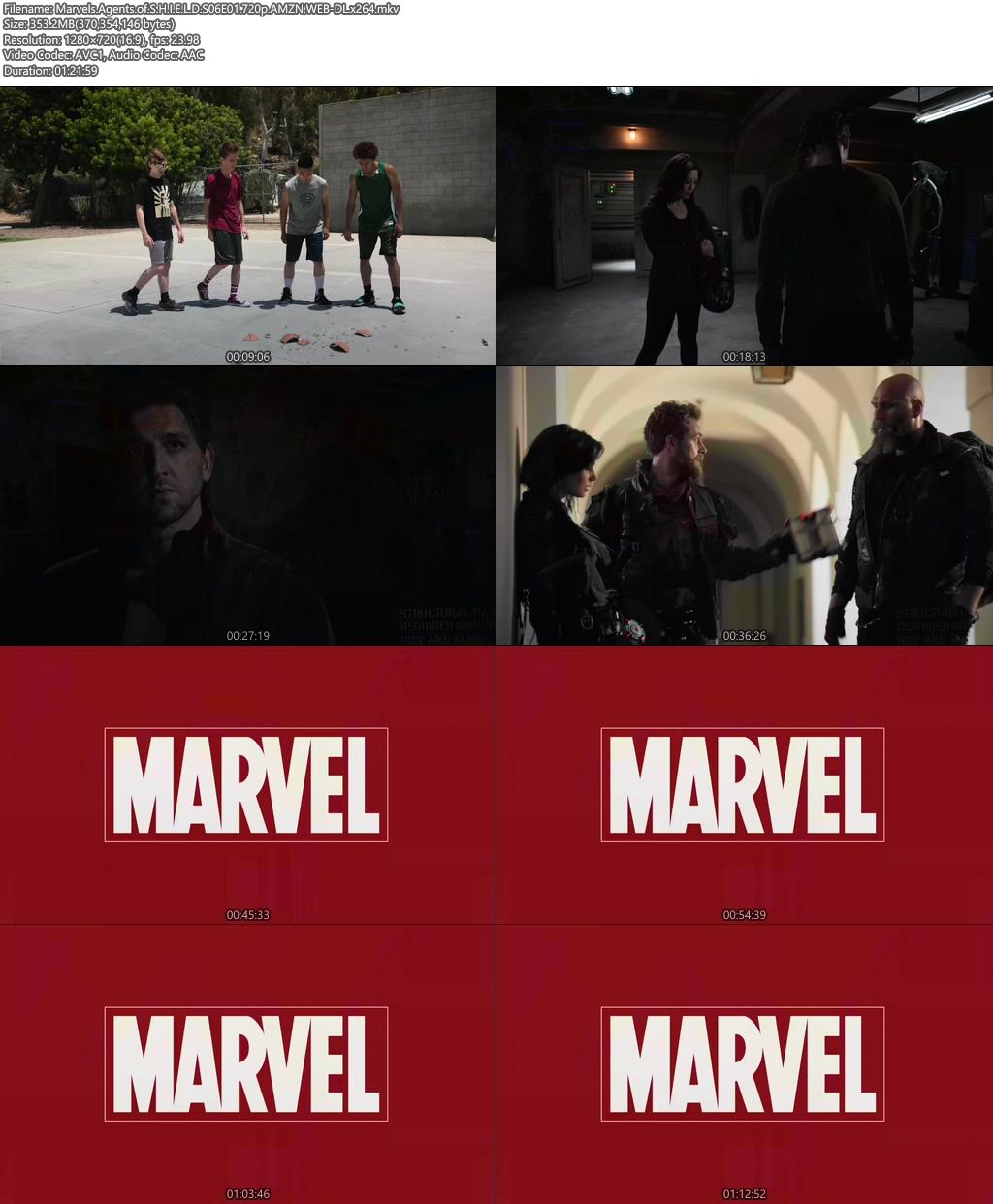 Marvels Agents of S.H.I.E.L.D S06E01 720p AMZN WEB-DL x264 Screenshot