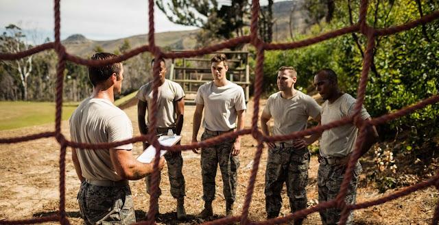 Basic Training Recruits