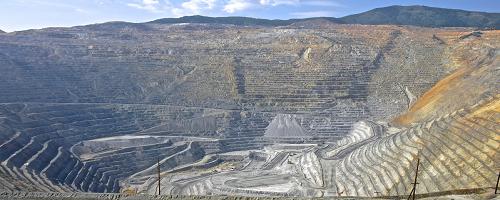 Mina del cañón Bingham