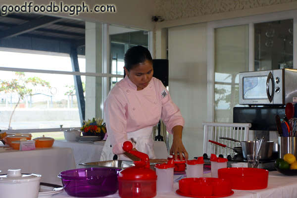 Chef+Melissa - Kitchen Discovery Class by Tupperware and CCA - Part 1