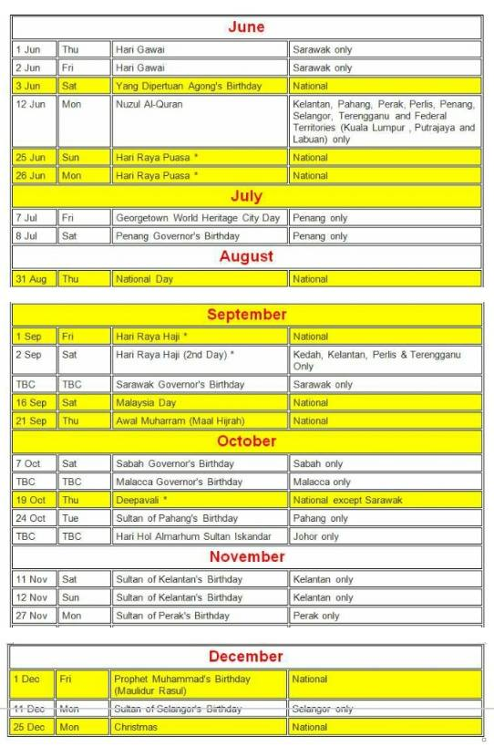 Kalender 2017 Related Keywords & Suggestions - Malaysia Kalender 2017 ...