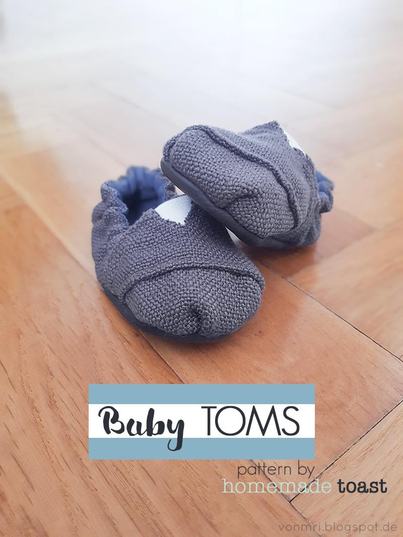 Schnittmuster Review: Baby Toms von homemade toast | von mri