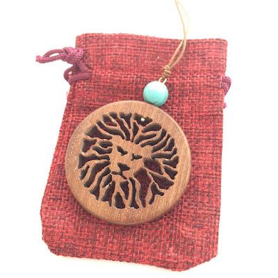 handmade wood jewels