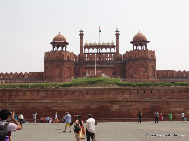 Red Fort - Lal Qila Fort Delhi, India