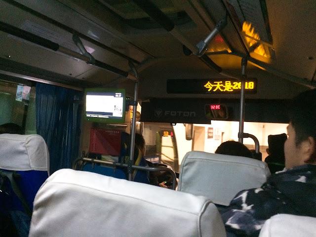 memakai yikatong bis di china