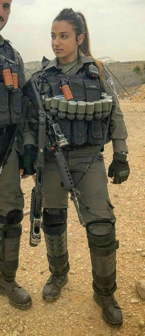 Amazing Fun Facts Beautiful Women In Israel Defense Forces - Idf Army Girls - Israel -4875