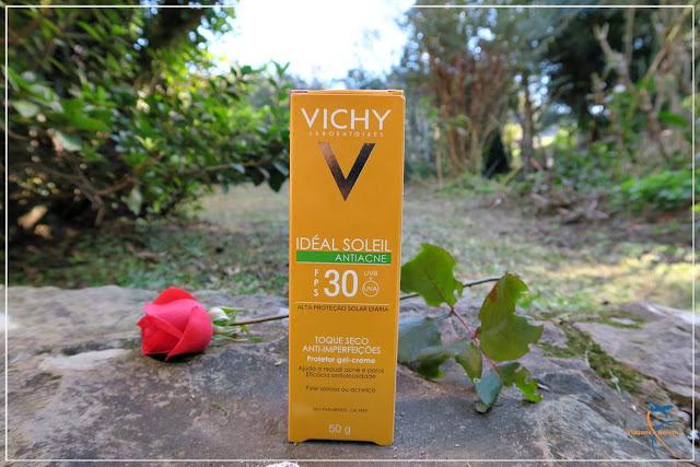 Protetor Idéal Soleil Antiacne e Toque Seco FPS 30 |  Vichy