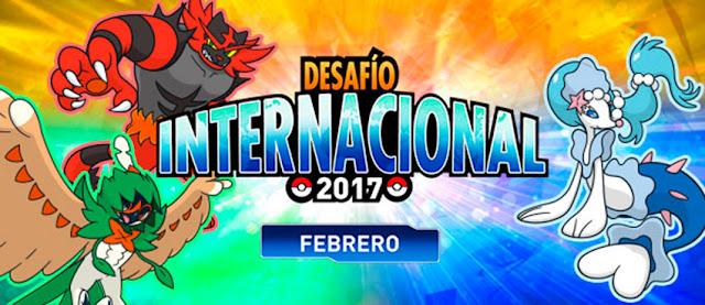 Confirmada competición Desafío Internacional Febrero 2017 para Pokémon Sol y Luna