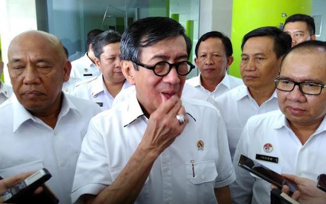 Heboh e-KTP Warga China di Cianjur, Yasonna: Ada Salah Input