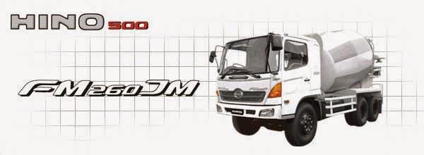 NEW RANGER HINO500 Series FM 260 JM New MIXER