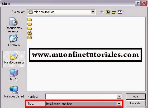Archivo a seleccionar itemtooltip