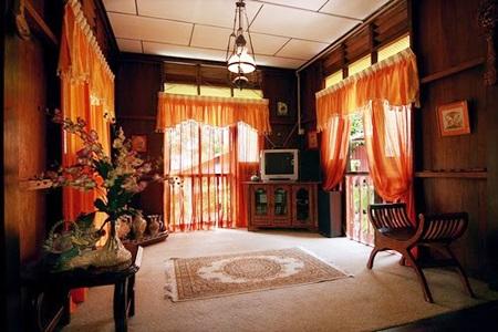 Contoh Desain Ruang Tamu Ala Rumah Kampung
