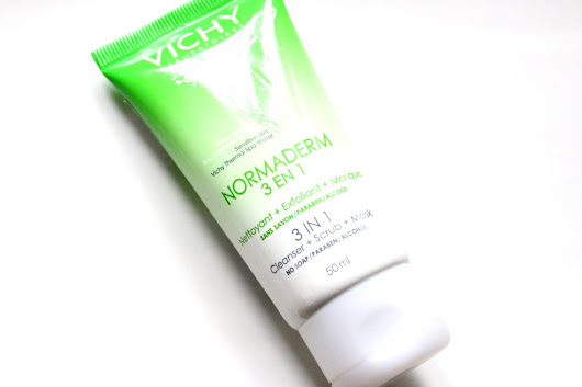 Review: Vichy Normaderm 3 in 1 Cleanser + Scrub + Mask