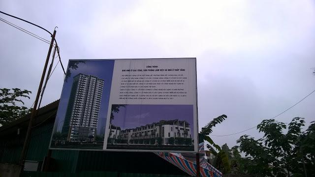 quy mô dự án hồng hà tower