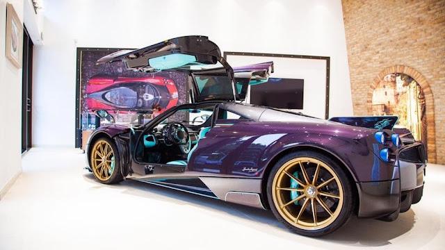 Pagani Huayra Dinastia - El vehículo presenta un impresionante diseño