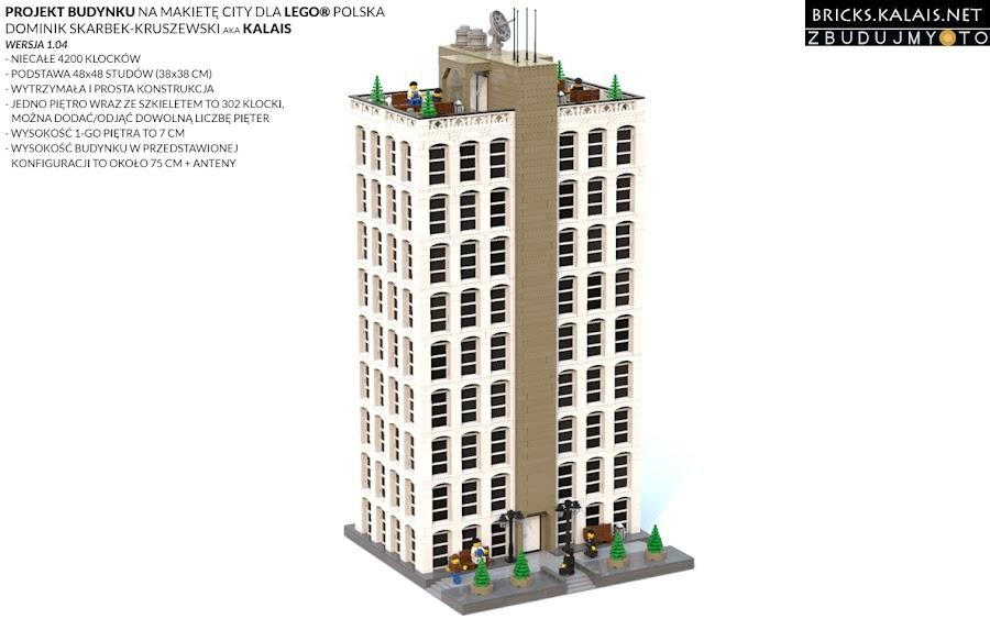 15. A tutaj projekt komputerowy, który najpierw wykonałem. Warto też wspomnieć, że projekt powstał dzięki współpracy stowarzyszenia zbudujmy.to, którego jestem członkiem, z LEGO Polska.