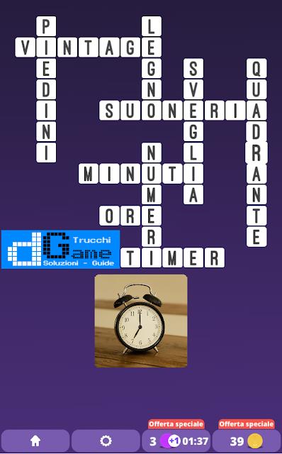 Soluzioni One Clue Crossword livello 14 schemi 7 (Cruciverba illustrato)  | Parole e foto