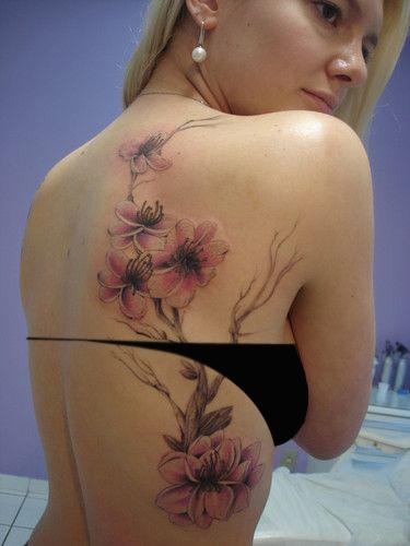 100 Tatuajes De La Flor Del Cerezo O Sakura Belagoria La Web De