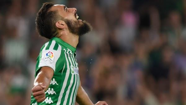 """Borja Iglesias - Betis -: """"Llegar al estadio del Sevilla y ganar es un chute de moral para el final"""""""