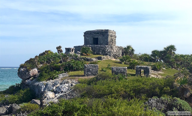 Les ruines de Tulum, Yucatan, Mexique