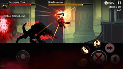لعبة Shadow of Death مهكرة للأندرويد، لعبة Shadow of Death كاملة للأندرويد