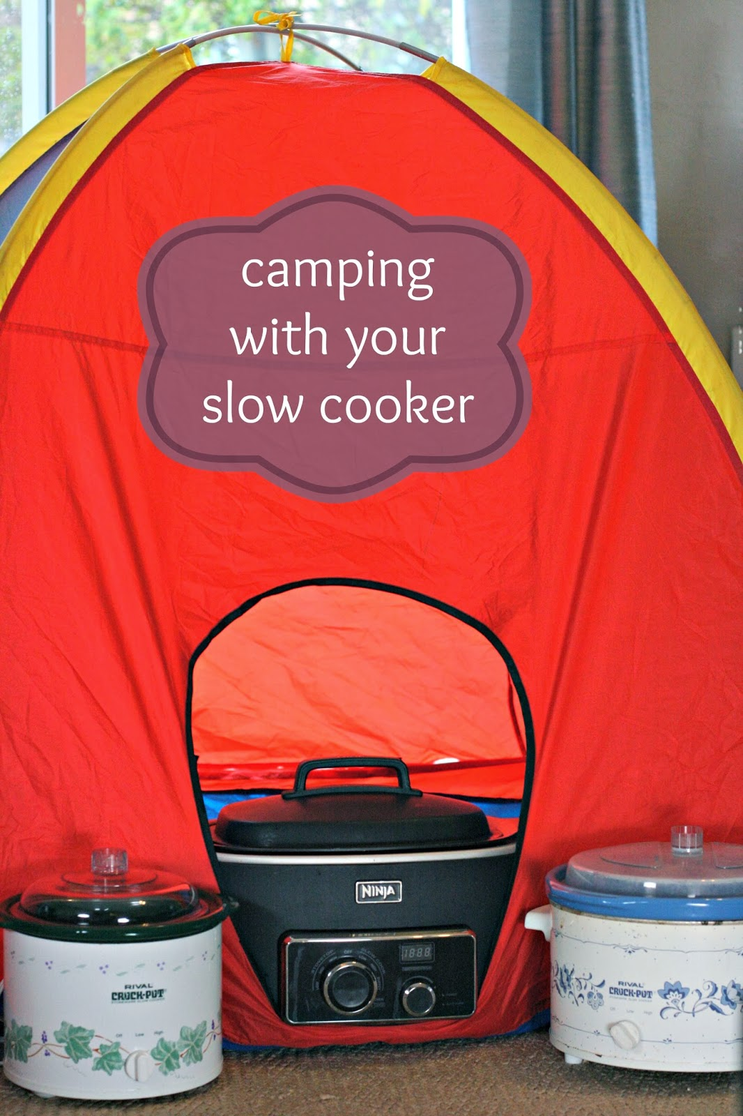 Yes, you should totally take your slow cooker on your next camping trip!! Article includes camping food ideas, too! This is a must-pin to explore later.
