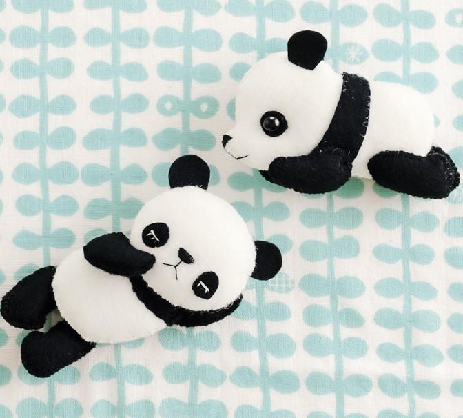 Armarinho São José: Amigurumi - Ursinho Panda! | 606x672