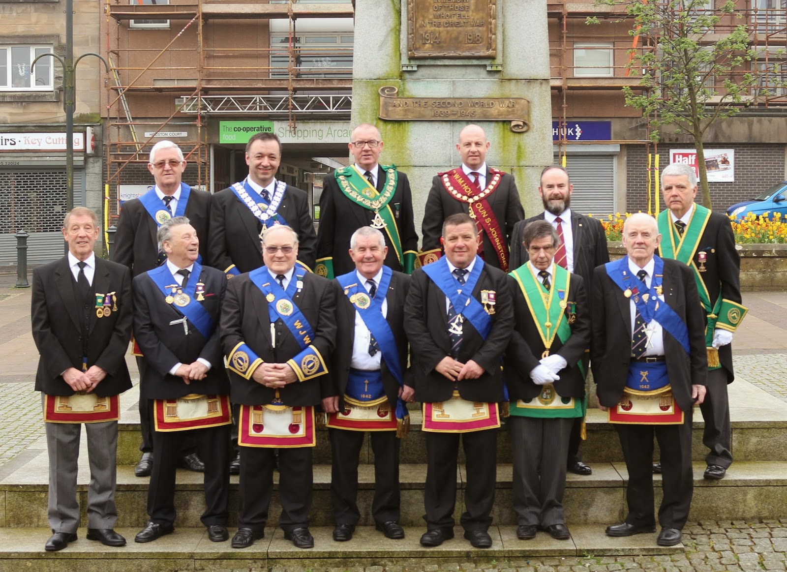 LODGE CRAIGENDS RE-DEDICATES WAR MEMORIAL | PGLRE News