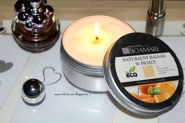 BIOAMARE Naturalny balsam w świecy