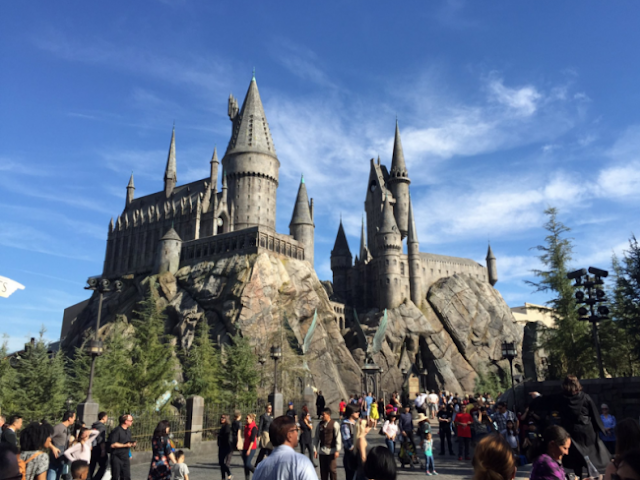 Parque do Harry Potter no Islands Of Adventure em Orlando