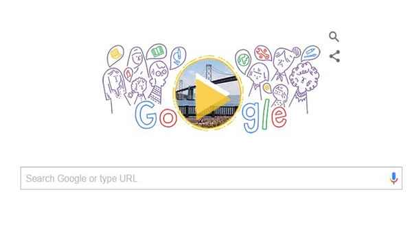 International Women's Day Google Doodle Video, Pic 08-03-2016 by Liat Ben Rafael