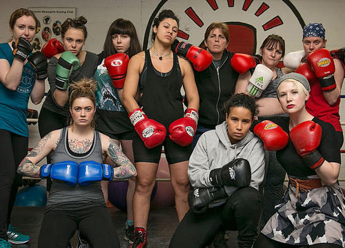 """A """"Pro-Rape"""" Men's Meeting Just Got Busted Up By An All-Girl Boxing Club"""