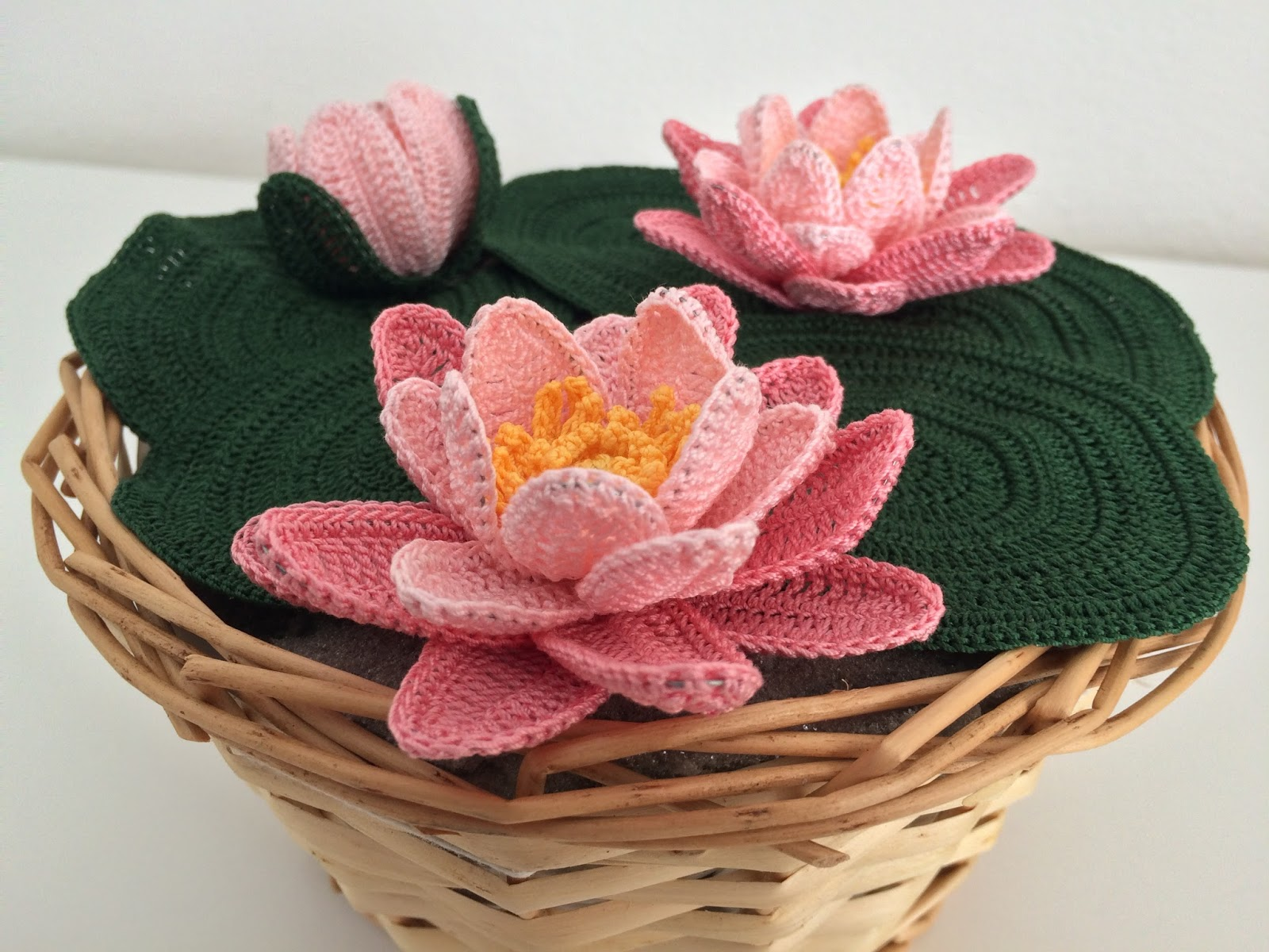 Il Blog Di Sam How To Crochet A Water Lily