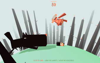 Game Html Keren : Run of Rabbit