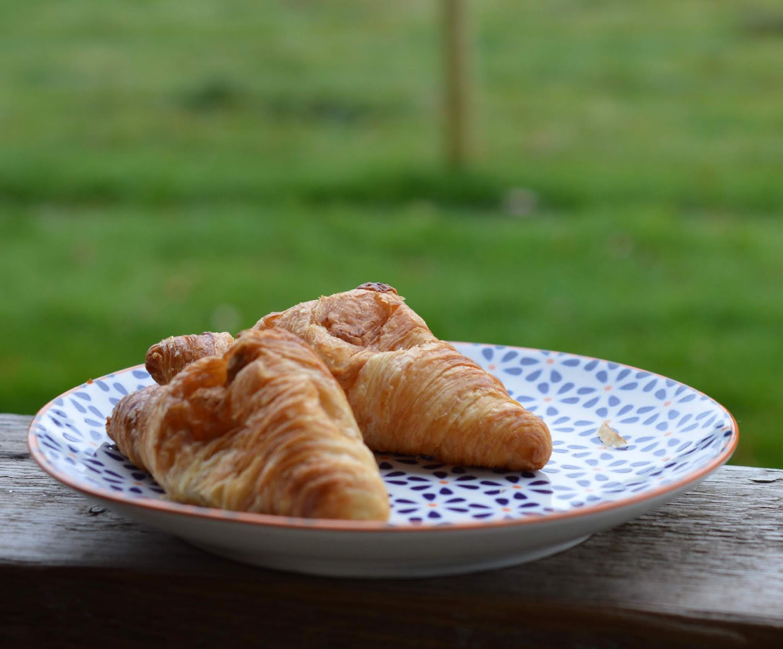 Experience Northumberland's Dark Skies with a Stay at Hesleyside Huts  - fresh croissants