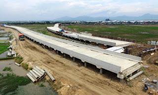 Akses Jalan Tol Menuju Stadion GBLA Tuntas Awal September 2016
